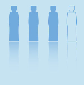 More than 3 out of 4 glass and plastic bottles end up in landfills, creating 3 billion pounds of waste each year.  Our  dishwasher safe bottles were designed to be cleaned and reused over and over again, keeping them looking great and out of landfills.